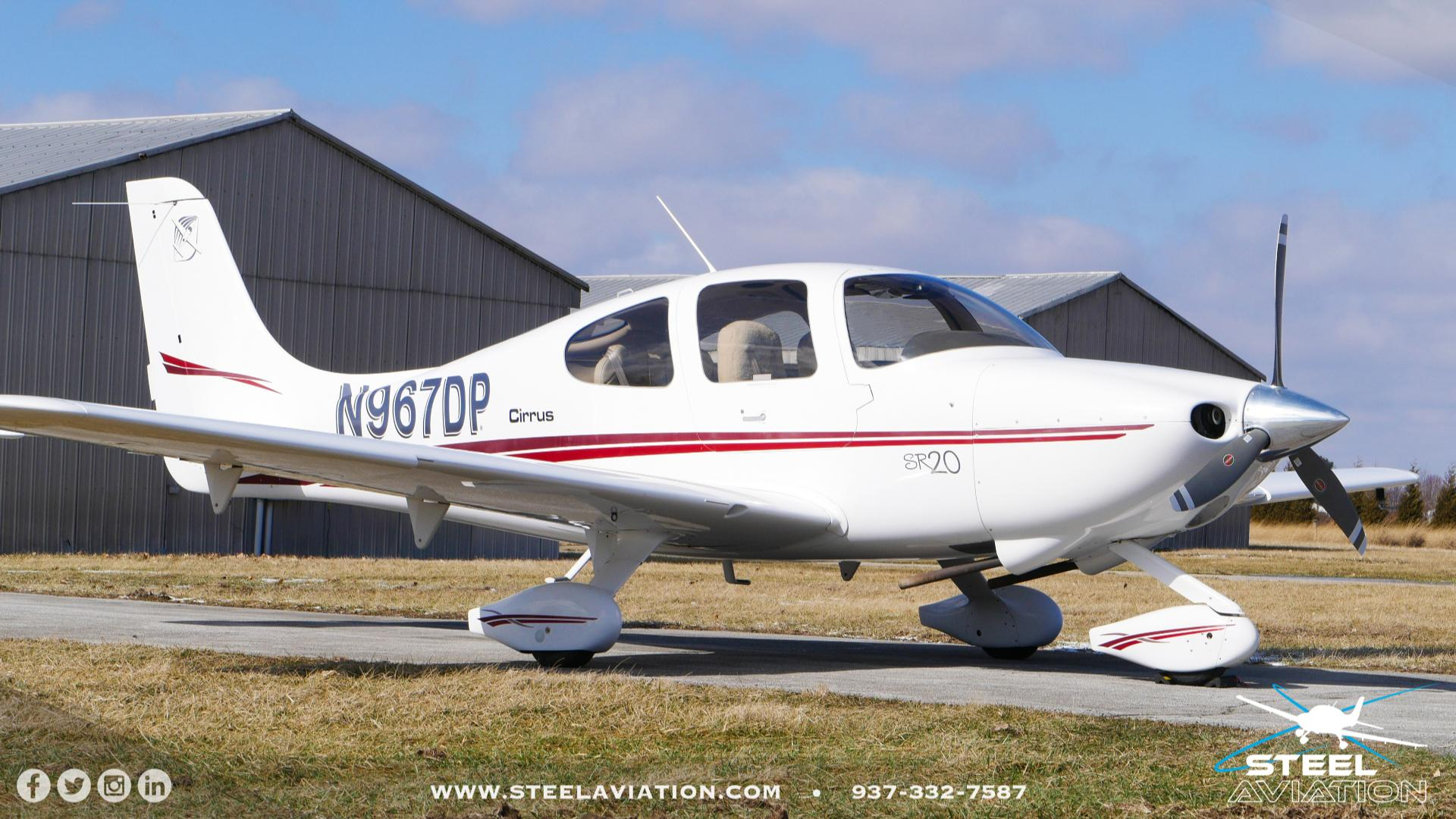 2002 Cirrus SR-20   Steel Aviation