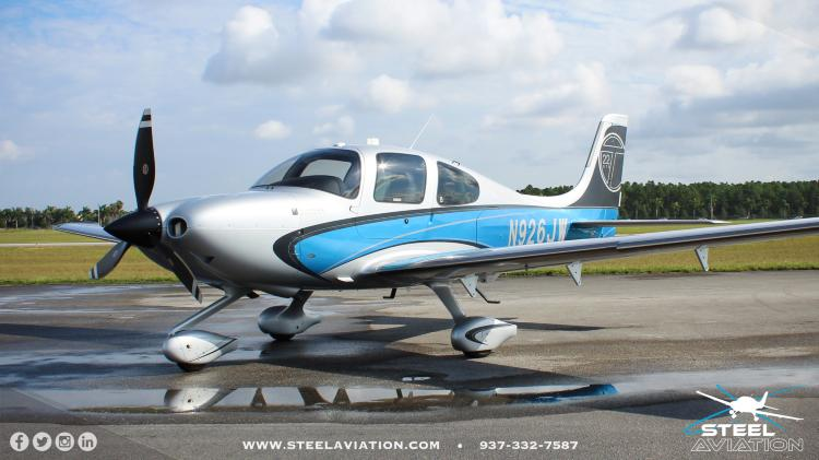 2013 Cirrus Sr22t G5 Gts Steel Aviation