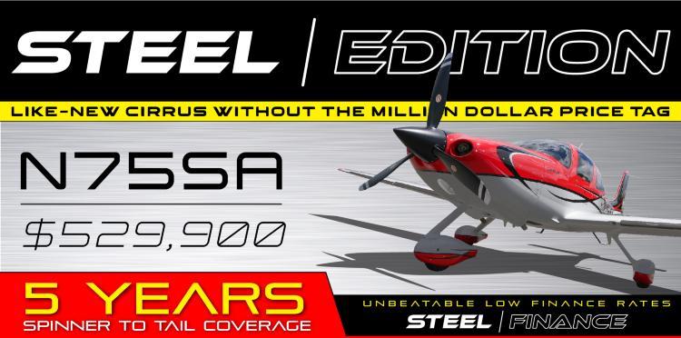 Cirrus STEEL EDITION SR22
