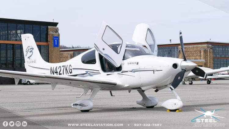 2008 Beechcraft SR22 GTS G3 TURBO Perspective