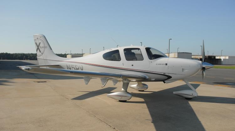 2010 Cessna SR22 GTS TURBO PERSPECTIVE